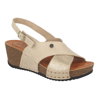 See photos Leather Woman Sandal Beige (33C631G)
