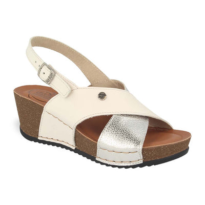See photos Leather Woman Sandal Light Grey (33C631G)