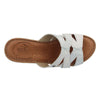 Leather Woman Slipper Light Grey  (370D60   1G)