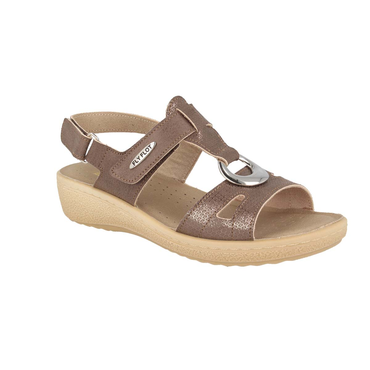 See photos Cloth Woman Sandal Taupe (55B483B)