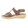 Cloth Woman Sandal Taupe  (550B48   3B)