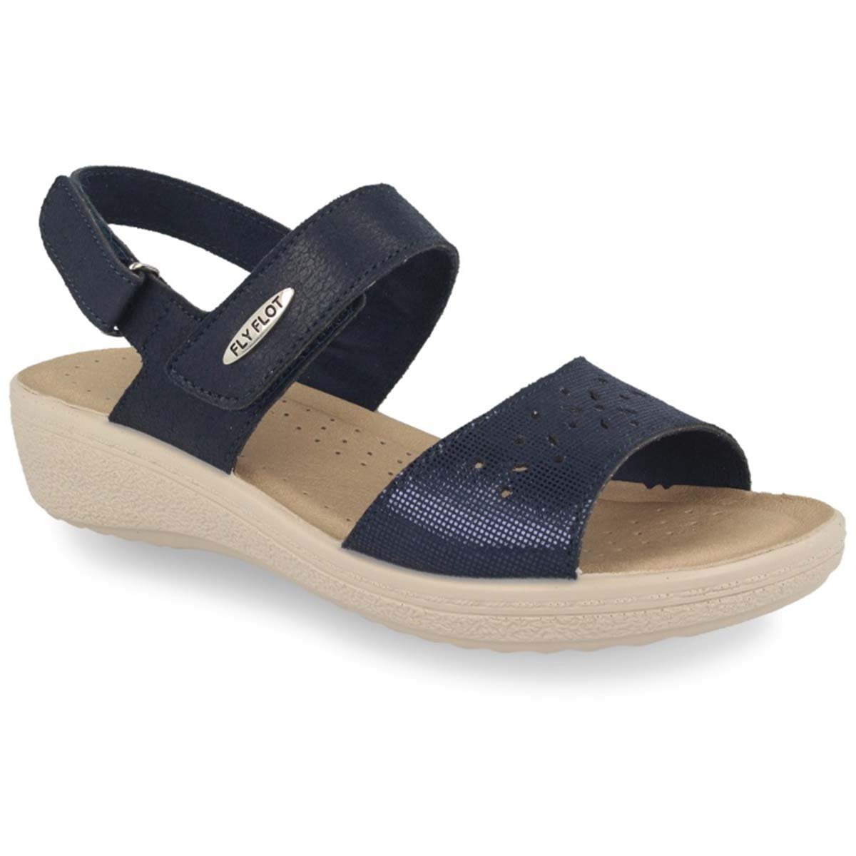 See photos Cloth Woman Sandal Blue (55D66IB)