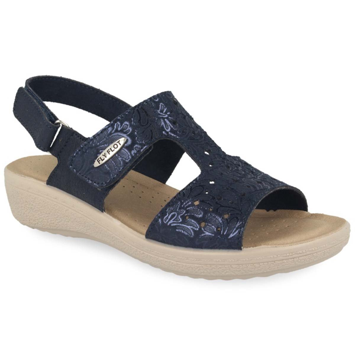 See photos Cloth Woman Sandal Blue (55D69HB)