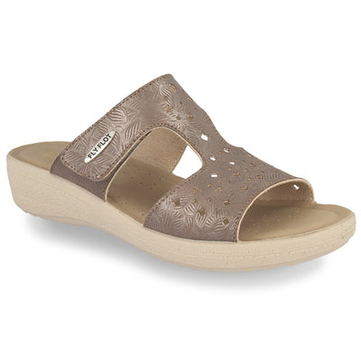 See photos Cloth Woman Slipper Taupe (55D70MB)