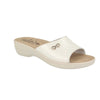 Cloth Woman Slipper White  (T50B20   ZB)