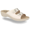 See photos Cloth Woman Slipper White (T5C336B)