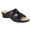 Cloth Woman Slipper Black (96e28lb)