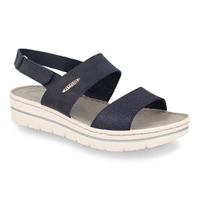 See photos Leather Woman Sandal Blue (25B79QG)