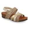 See photos Leather Woman Sandal Taupe (23D15PG)