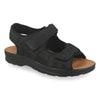 Synthetic Man Sandal Black (S5037cb)