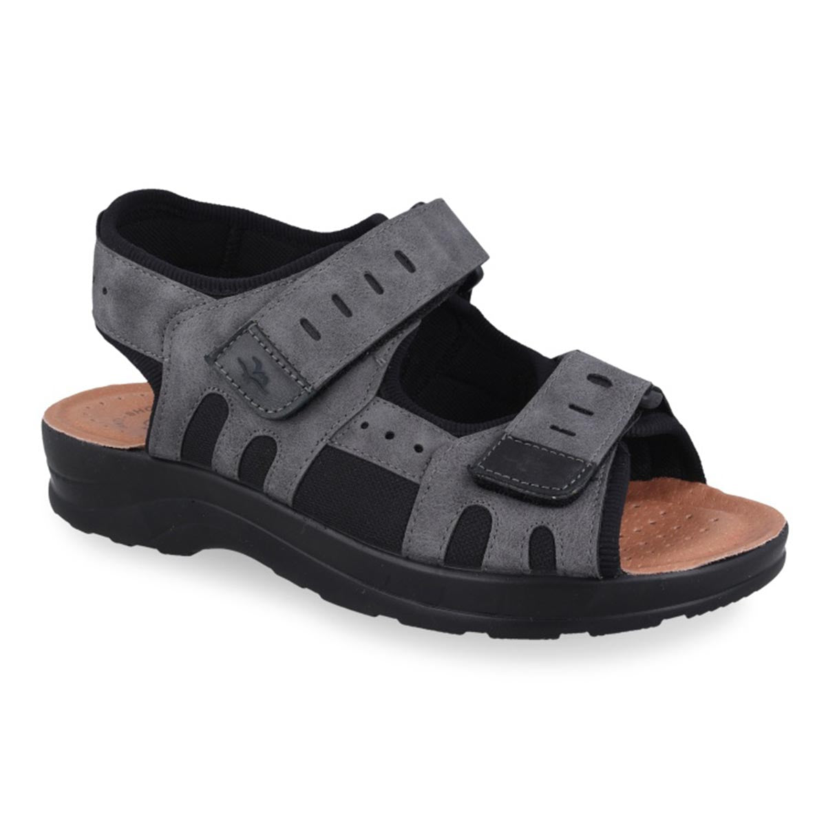Synthetic Man Sandal Grey (S5037cb)
