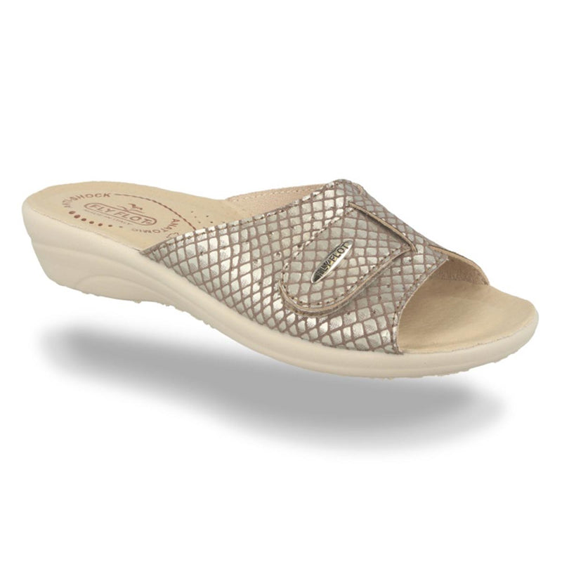 Cloth Woman Slipper Taupe (T4a57lb)