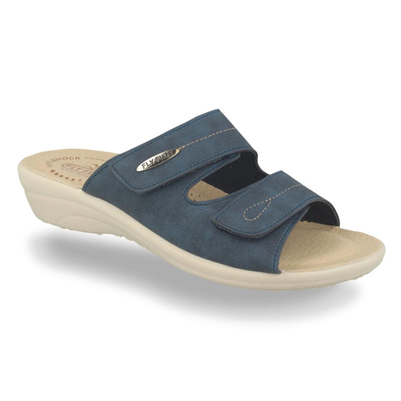Synthetic Woman Slipper Blue (T4a59cb)