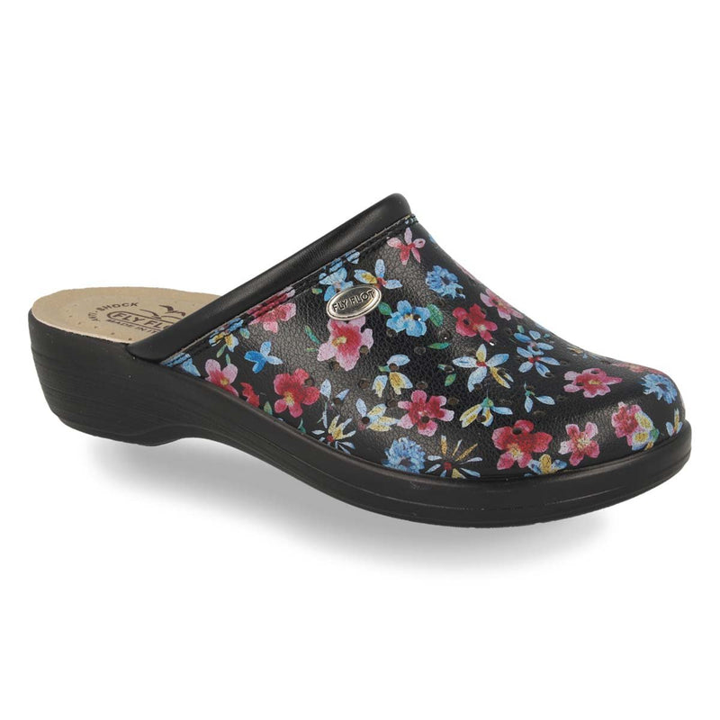 Photo of the Synthetic Woman Slipper Black (T5b236b)