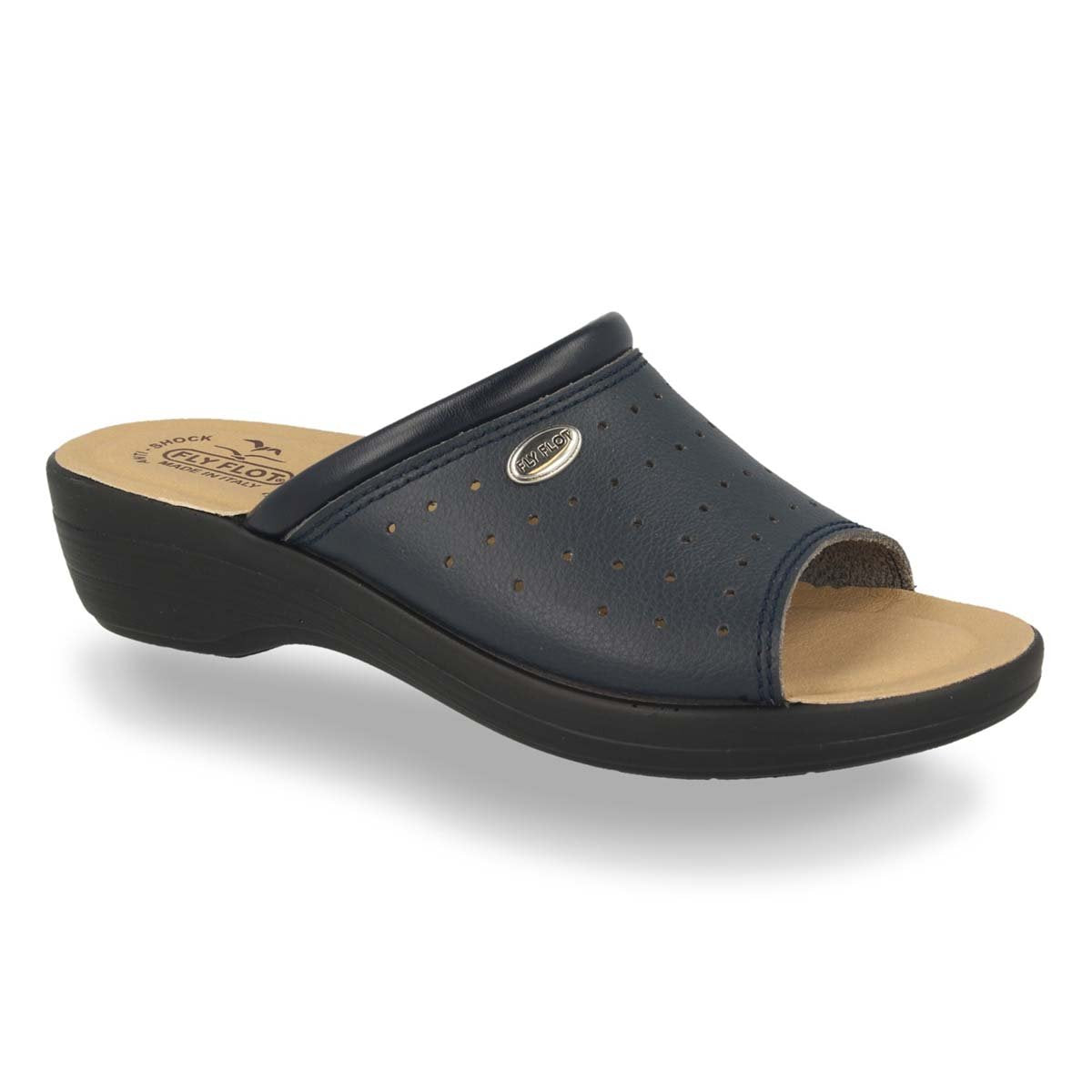 Photo of the Synthetic Woman Slipper Blue (T5b24eb)