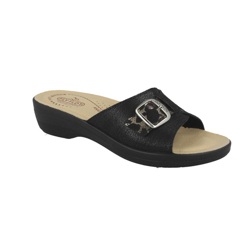 Cloth Woman Slipper Black (T5c32jb)