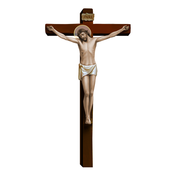 Crucifix Decal