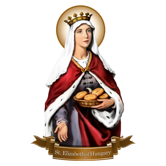 St. Elizabeth of Hungary Decal
