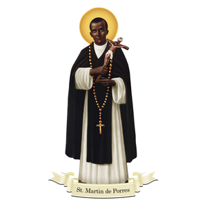 St. Martin de Porres Decal