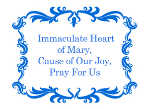IHM Prayer Decal