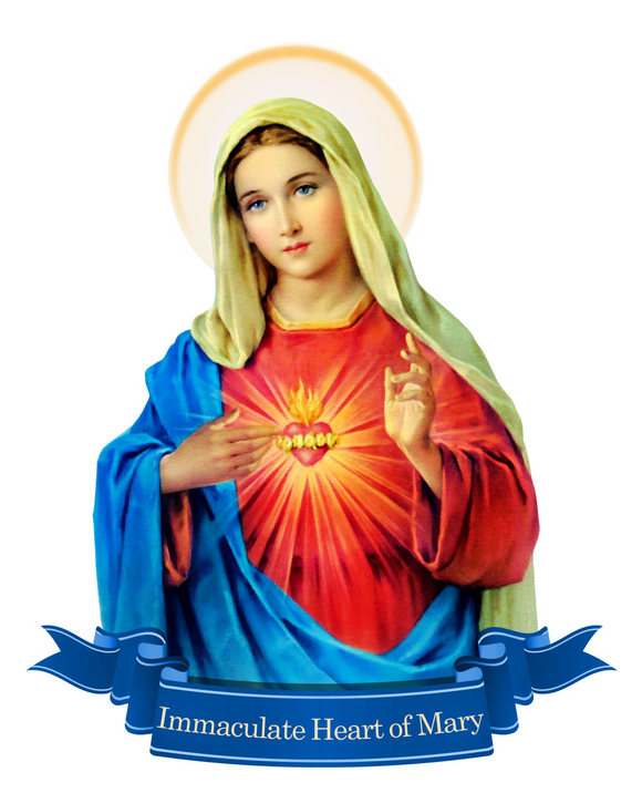 Immaculate Heart Decal