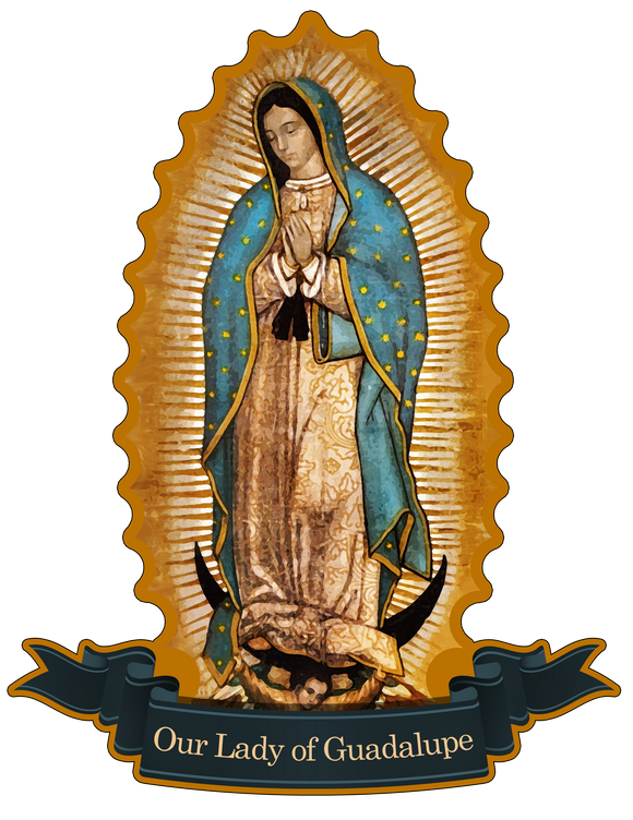 Our Lady of Guadalupe Decal