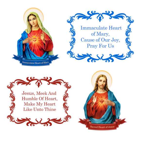 Immaculate & Sacred Heart Set