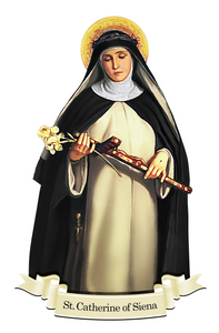 St. Catherine of Siena Decal