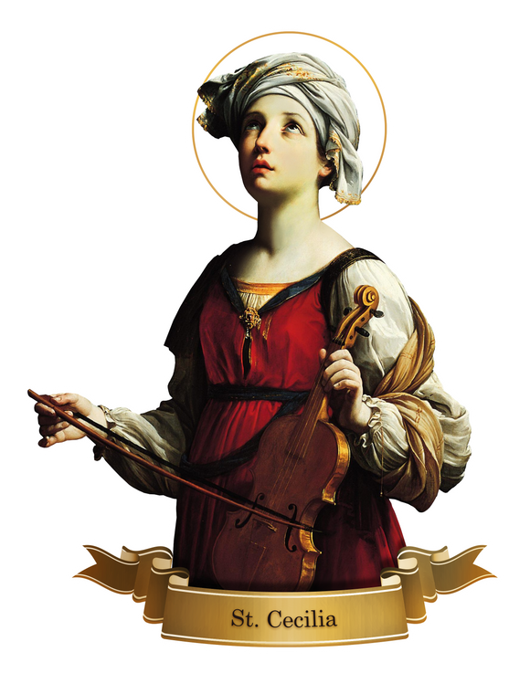 St. Cecilia Decal