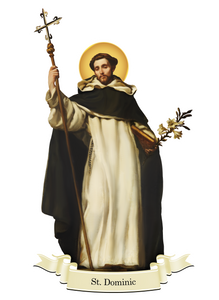 St. Dominic Decal
