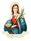 St. Lucy Decal