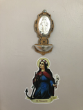 St. Philomena Decal