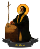 St. Maron Decal