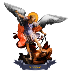 St. Michael the Archangel Decal