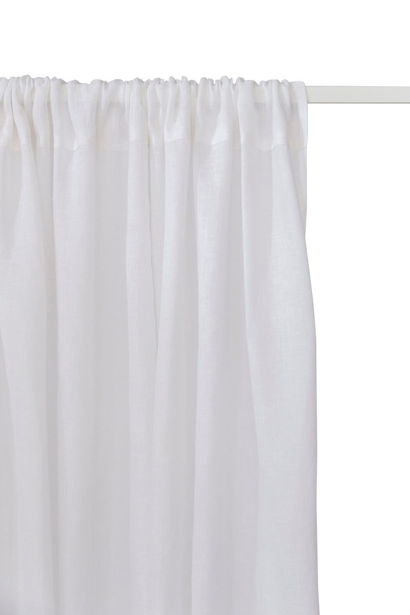 Norcia Curtains, White