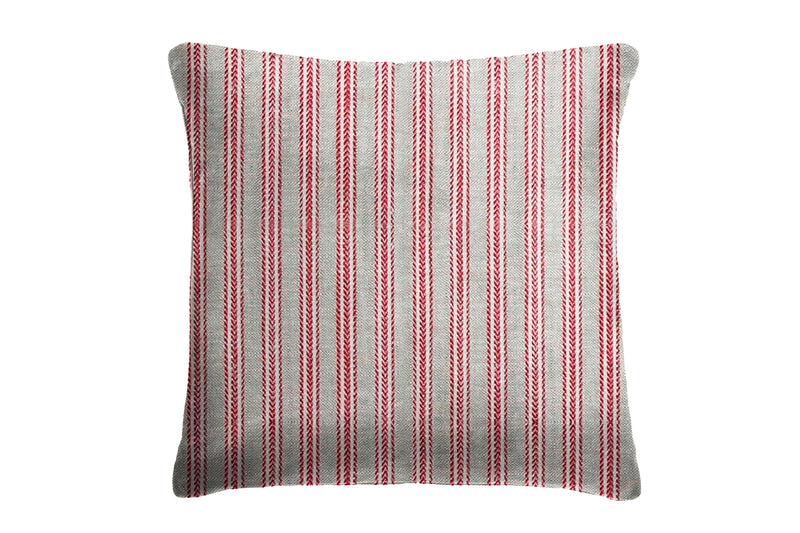 Canton Large Cushion, Red