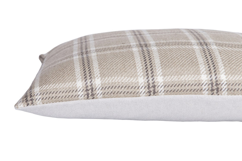 Oxford Rectangular Cushion, Beige