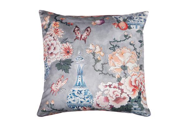 Shanghai Cushion, Cream