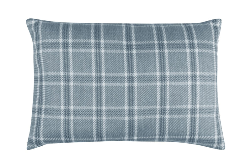 Oxford Rectangular Cushion, Blue