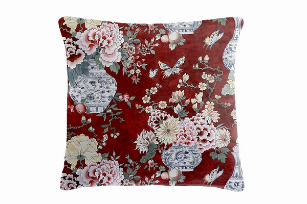 Shanghai Cushion, Red