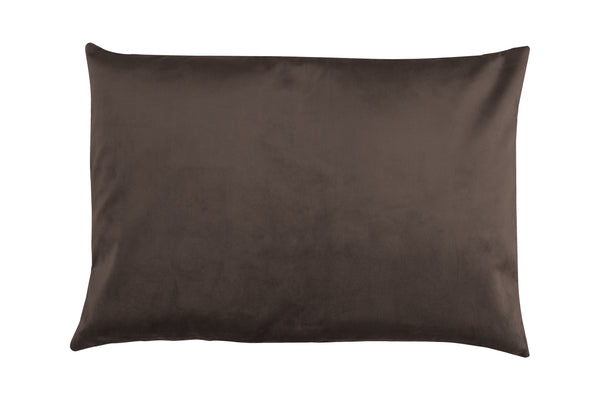 Wally Rectangular Cushion, Mocca