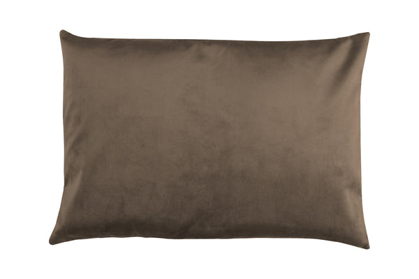 Wally Rectangular Cushion, Taupe