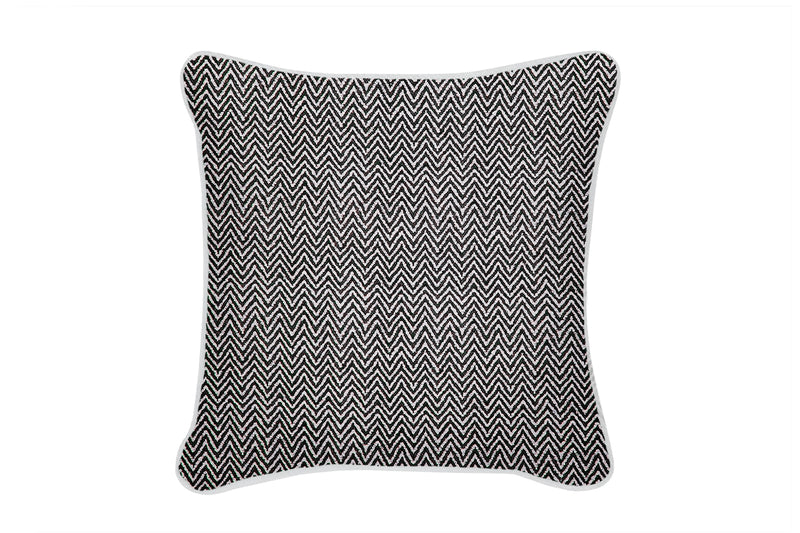 Tebas Cushion, Black