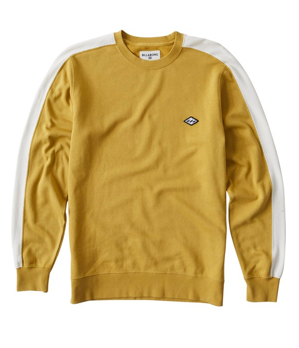 Wave Washed Crew Sweater