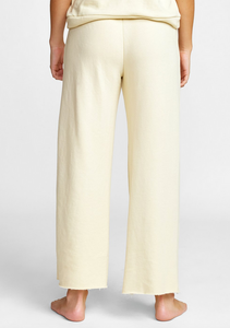 Pepper Wide Leg Fleece Pant - Cork