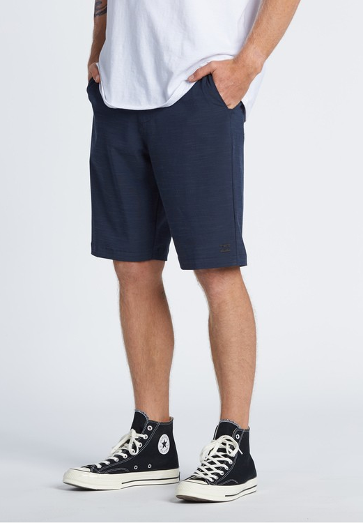 Crossfire Slub Submersible Walkshort - Navy
