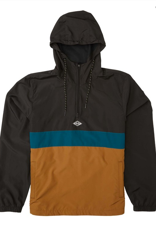 Wind Swell Anorak Jacket - Rustic Brown
