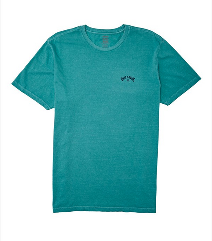Arch Wave Short Sleeve Tee - Dark Mint