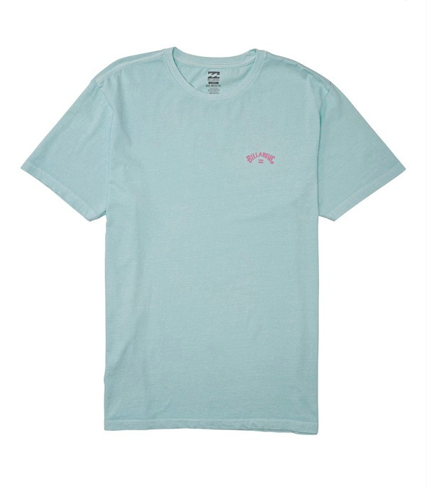 Arch Wave Short Sleeve Tee - Coastal Blue