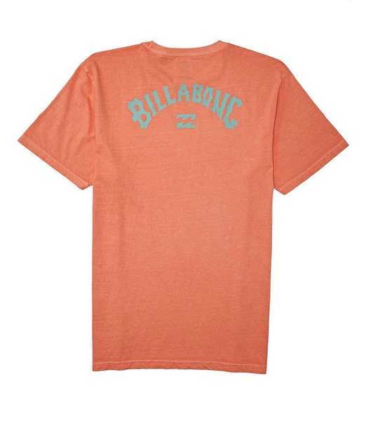 Arch Wave Short Sleeve Tee - Coral